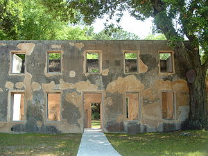 Jekyll Island - The Horton House ruins in 2007