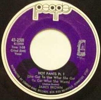 Hot Pants (James Brown song) - Image: Hot Pants 1People