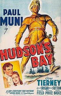 <i>Hudsons Bay</i> (film) 1941 film by Irving Pichel