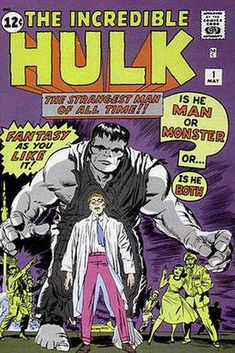 The Incredible Hulk (comic book) - Image: Hulk 1