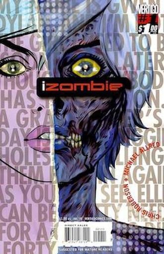 IZOMBIE - Image: I Zombie 1 cover