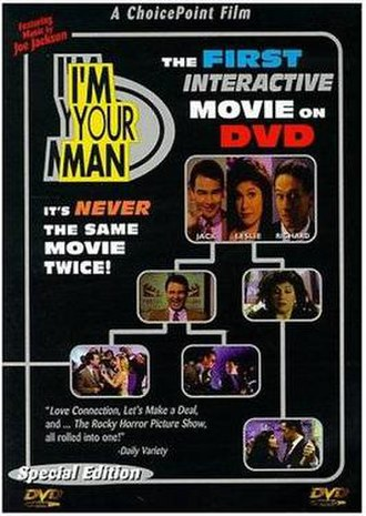 I'm Your Man (film) - 1998 DVD cover