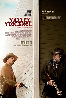 <i>In a Valley of Violence</i> 2016 film by Ti West