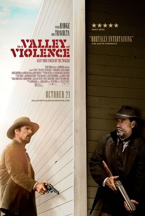 In a Valley of Violence - Theatrical release poster
