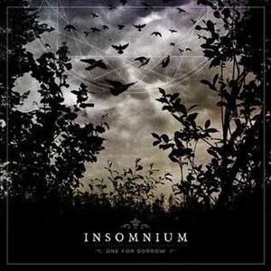 One for Sorrow (album) - Image: Insomnium One for Sorrow album cover