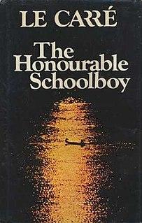<i>The Honourable Schoolboy</i> 1977 novel by John le Carré