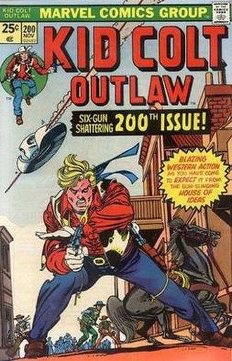 Kid Colt - Image: Kid Colt, Outlaw 1