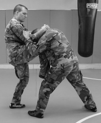 Knee (strike) - Image: Knee strike
