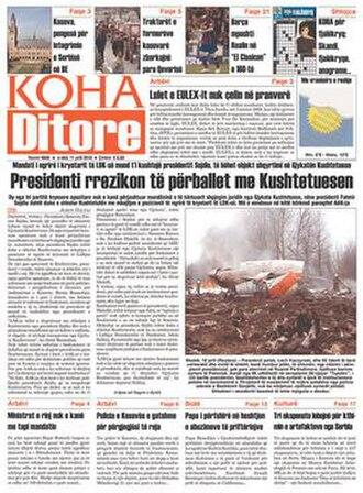 Koha Ditore - Koha Ditore of 11 April 2010