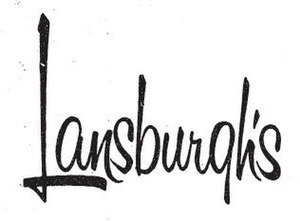 Lansburgh's - Image: Lansburghs 1971