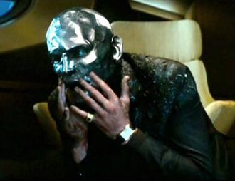 "Destro - Destro after acquiring his trademark ""mask""."