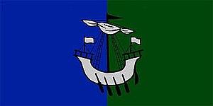 The Lorne Scots (Peel, Dufferin and Halton Regiment) - The camp flag of The Lorne Scots (Peel, Dufferin and Halton Regiment).