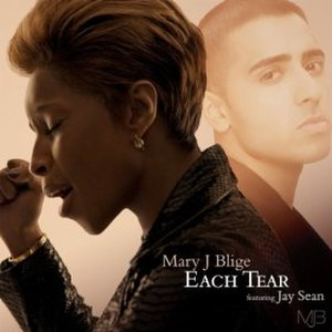 Each Tear - Image: MJB Each Tear (international)