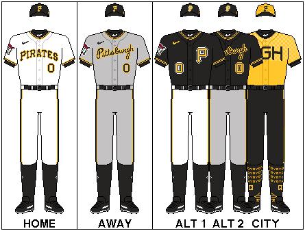 MLB-NLC-PIT-Uniforms