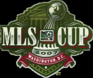 MLS Cup 2007 - Image: MLS Cup 2007