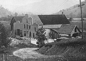 Mast General Store - The Mast General Store in Valle Crucis as it looked in the past.