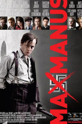 Max Manus: Man of War - Theatrical release poster