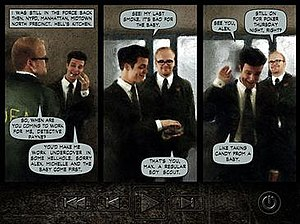 Max Payne (video game) - Graphic novel panels are used in place of cutscenes as narration, an element common to neo-noir