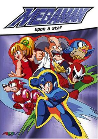 Mega Man: Upon a Star - North American DVD cover