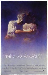 <i>The Glass Menagerie</i> (1987 film) 1987 film by Paul Newman