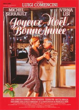 Merry Christmas... Happy New Year - French film poster