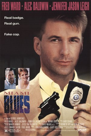 Miami Blues - Theatrical release poster