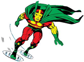 Mister Miracle - Mister Miracle Art by Jack Kirby.