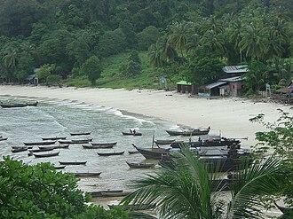 Mergui Archipelago - Moken Village