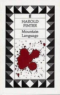 <i>Mountain Language</i> Theater play by Harold Pinter