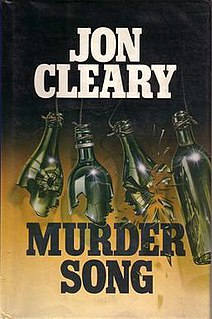 <i>Murder Song</i> 1990 book by Jon Cleary