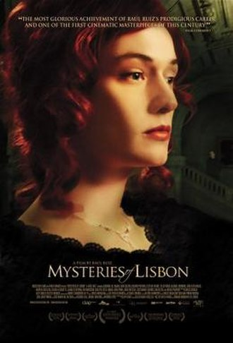 Mysteries of Lisbon - American poster