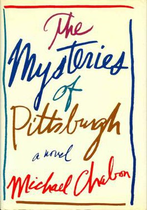 The Mysteries of Pittsburgh - First edition cover