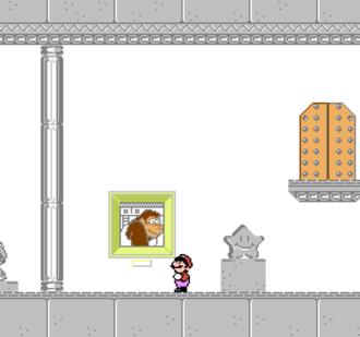 Mario's Time Machine - Screenshot of the Nintendo Entertainment System version of Mario's Time Machine