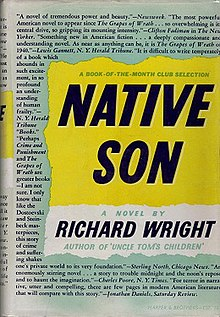 native son  nativeson jpg first edition author richard wright