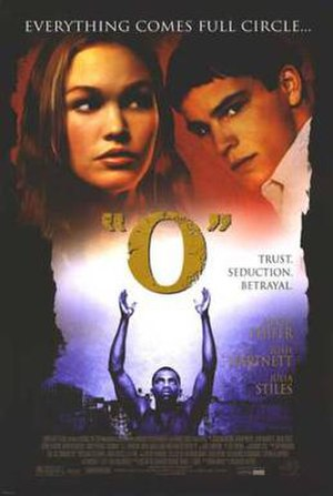 O (film) - Theatrical release poster