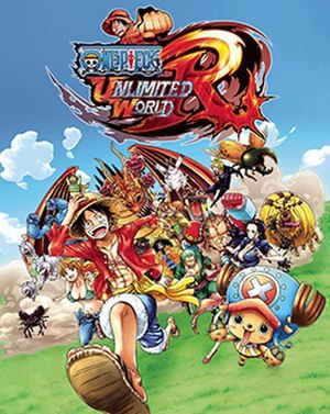 One Piece: Unlimited World Red - Packaging artwork released for all territories.