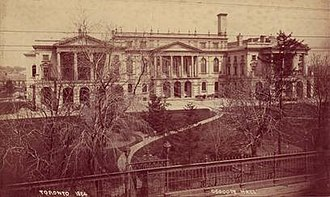 Law Society of Ontario Archives - Osgoode Hall, 1884