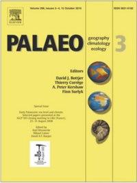 Palaeogeography, Palaeoclimatology, Palaeoecology cover.jpg
