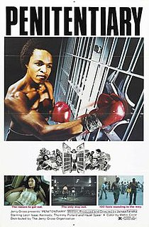 <i>Penitentiary</i> (1979 film) 1979 film by Jamaa Fanaka
