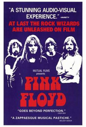 Pink Floyd: Live at Pompeii - Original theatrical film poster