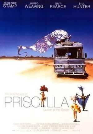 The Adventures of Priscilla, Queen of the Desert - Theatrical release poster