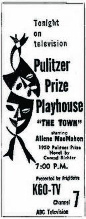 Pulitzer Prize Playhouse - Oakland Tribune ad (January 30, 1952)