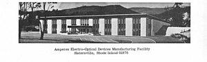 Amperex Electronic - Amperex facility in Slatersville, Rhode Island