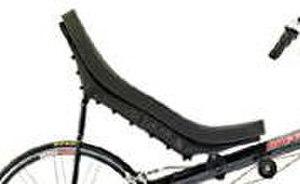 Bicycle seat - Seat of a Corsa bacchetta.