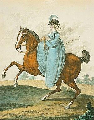 Riding habit, 1801