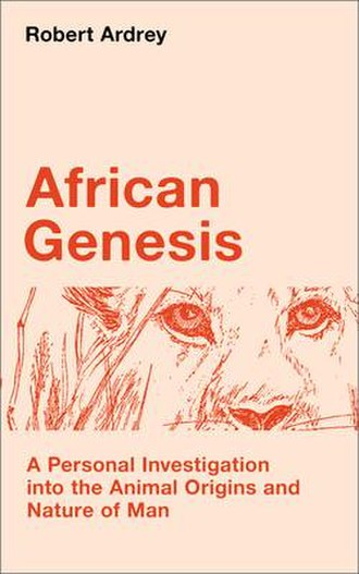 African Genesis - Image: Robert Ardrey African Genesis Cover