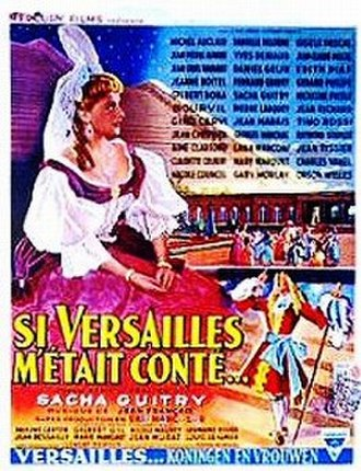 Royal Affairs in Versailles - Theatrical release poster