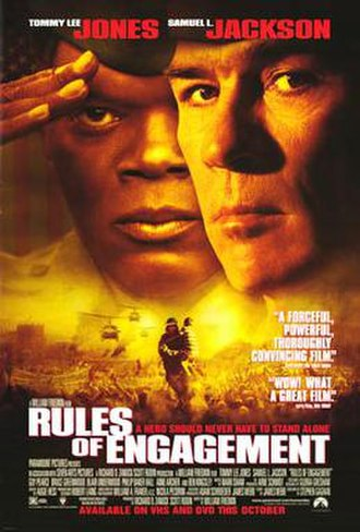 Rules of Engagement (film) - Home video release poster