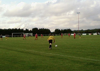 Ringwood Town F.C. - Picture of Ringwood Town in action