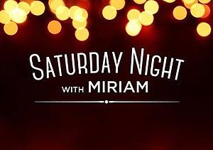 Saturday Night with Miriam - Image: Saturday Night with Miriam 2015 Logo
